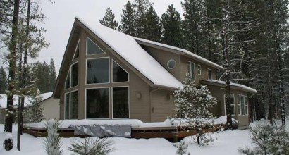 Sunriver Contemporary Prow Exterior